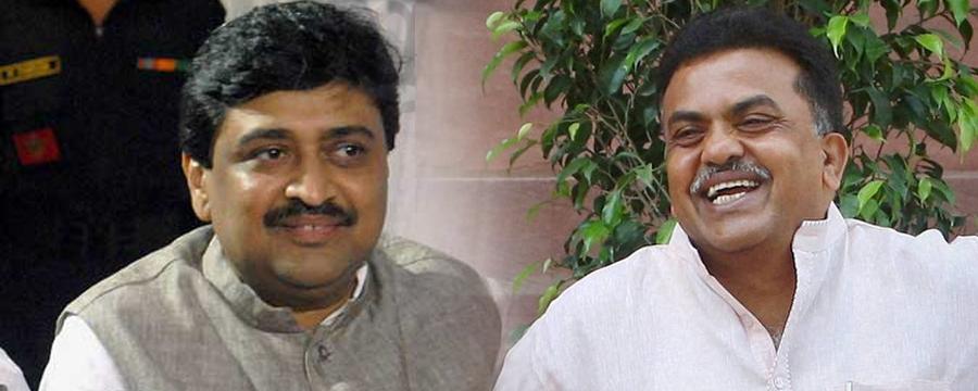 ashok chavan and sanjay nirupam
