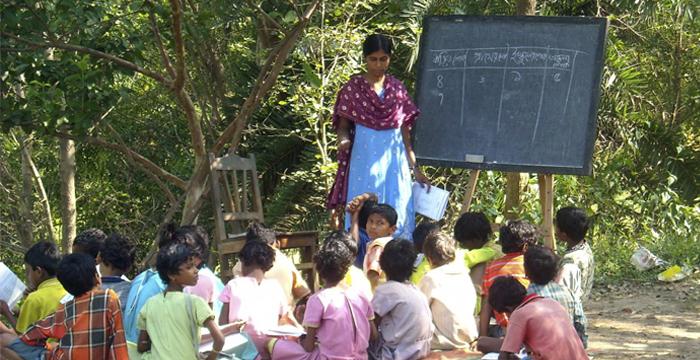 one teacher school