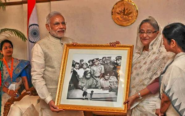 BANGALADESH PM VIST (1)