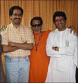balasaheb and uddhav and raj