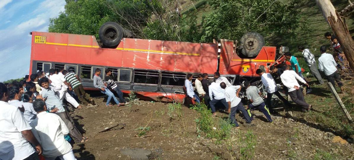 s t bus accident