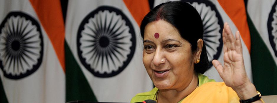sushma swaraj on pak