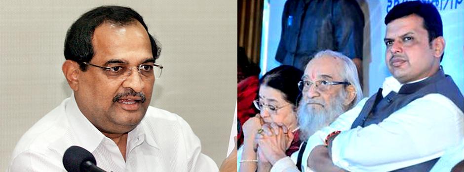 पुरंदरेंना दिलेला 'महाराष्ट्र भूषण' रद्द करा -विखे पाटील