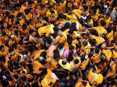 मुंबईत आतापर्यंत 129 गोविंदा जखमी