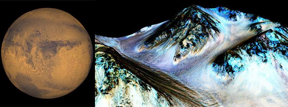मंगळावर पाणी सापडल्याचा 'नासा'चा दावा