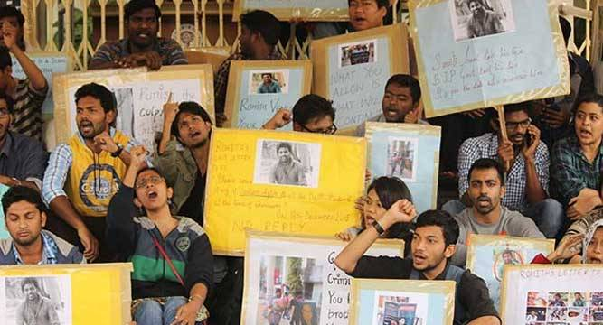 952886635-Rohith-Death-Protest_6