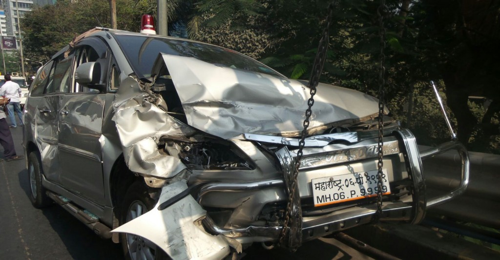 divakar_Ravate_car_accident