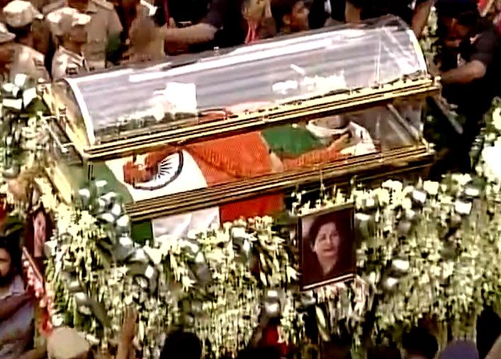 Amma Funeral processionjpg