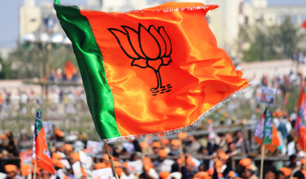 bjp-flag-rally