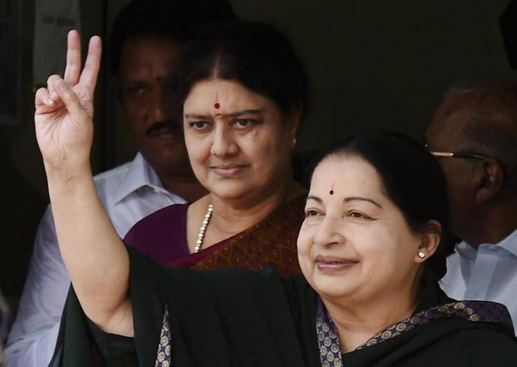 jayalalitha and sasikala