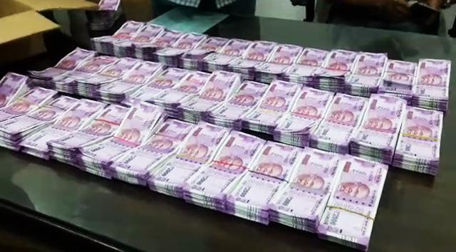 ठाण्यात तब्बल 1 कोटी 40 हजारांची रोकड जप्त, सर्व 2000 च्या नोटा