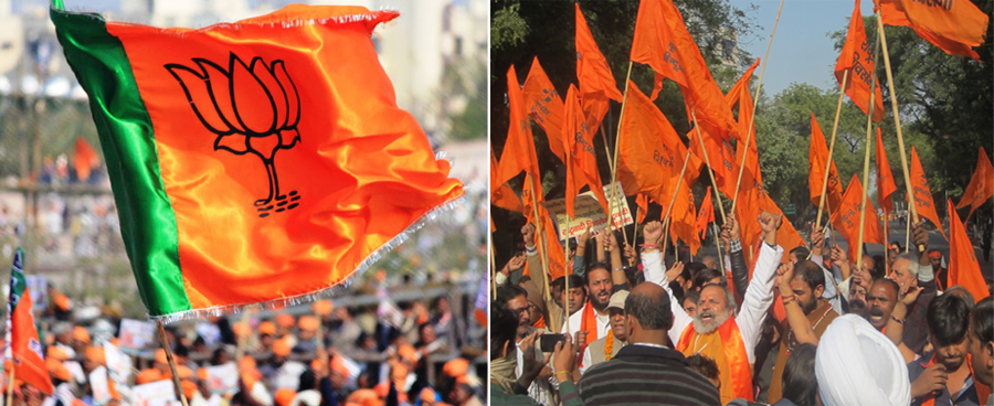 BJP-Sena-Banner