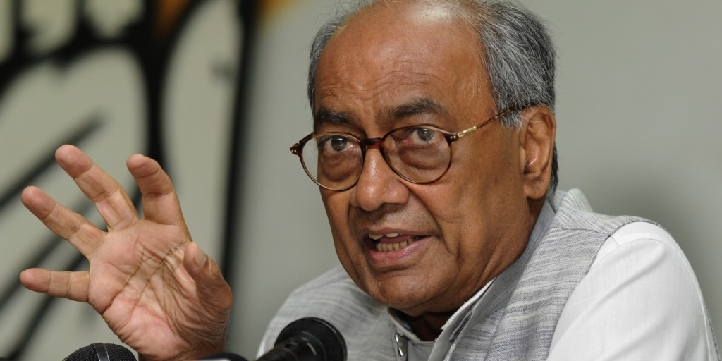 Press Conference Of Congress Leader  Digvijay Singh