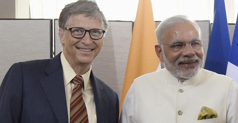 मोदींच्या स्वच्छ भारत अभियानाचं बिल गेट्सकडून कौतूक