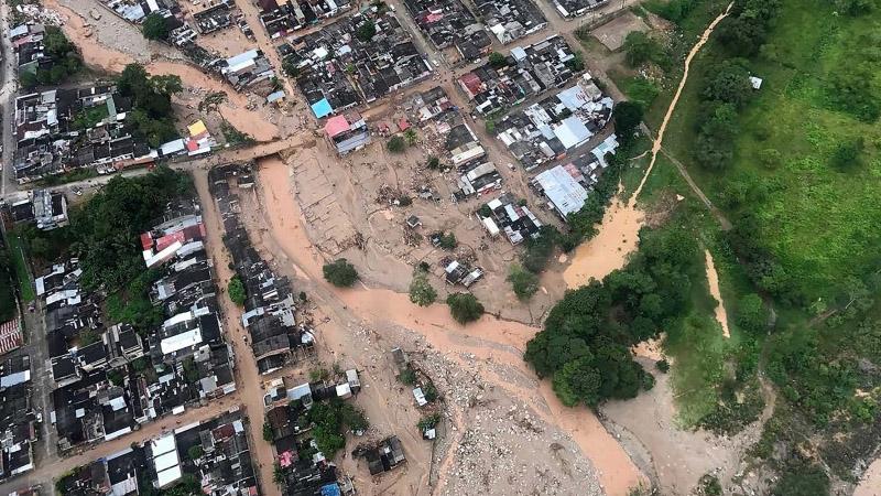 कोलंबियामध्ये भूस्खलन; 254 जणांचा मृत्यू, शेकडो कुटुंब बेपत्ता