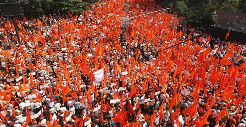 मराठा मोर्चाचं भगवं वादळ पुन्हा घोंघावणार, 9 आॅगस्टला मुंबईत धडकणार