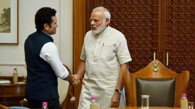 सचिनचा जीवनप्रवास प्रत्येक भारतीयासाठी प्रेरणादायी - पंतप्रधान