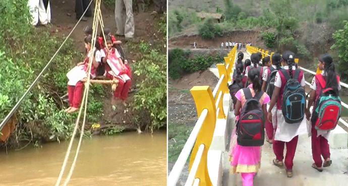 IBN लोकमतच्या बातमीचा इम्पॅक्ट, आंबेगव्हाण गावातील विद्यार्थ्यांचा घोर संपला...