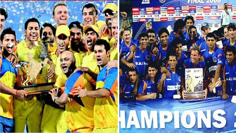 चॅम्पियन्स परत येताय, चेन्नई आणि राजस्थानला आयपीएलचे दार मोकळे !