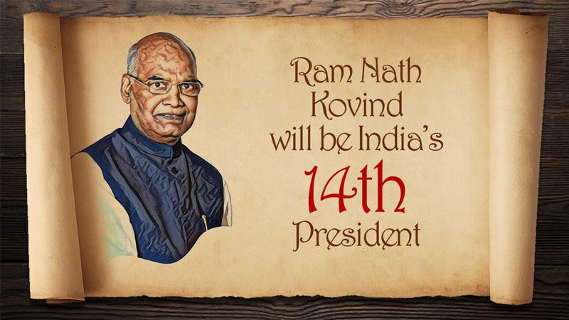 रामनाथ कोविंद देशाचे नवे राष्ट्रपती