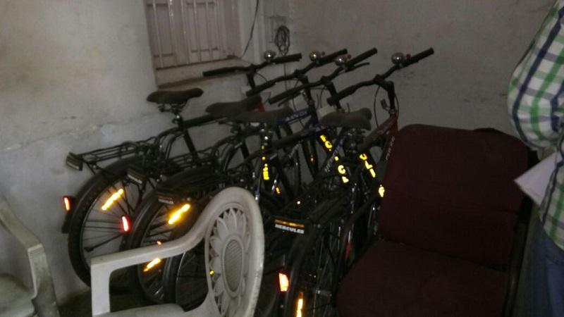 कोल्हापुरात पेट्रोलिंगच्या सायकली धूळ खात