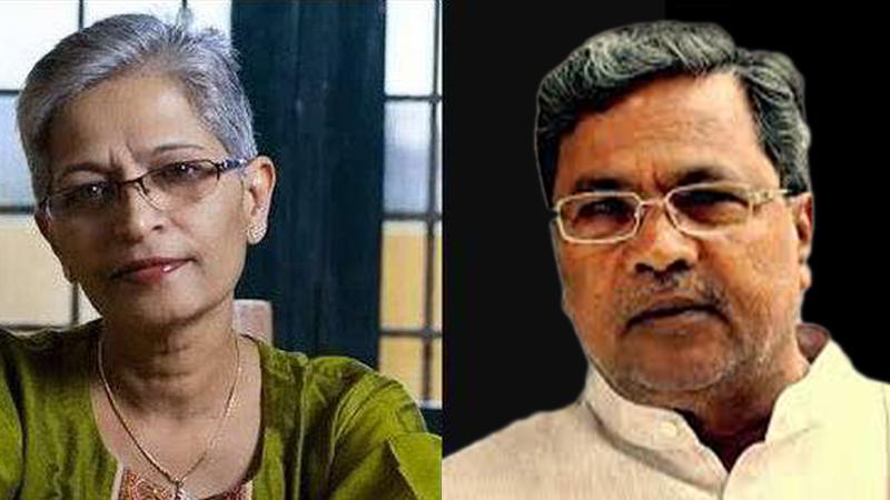 गौरी लंकेश हत्या प्रकरण: कर्नाटक सरकारने दिले एसआयटी चौकशीचे आदेश