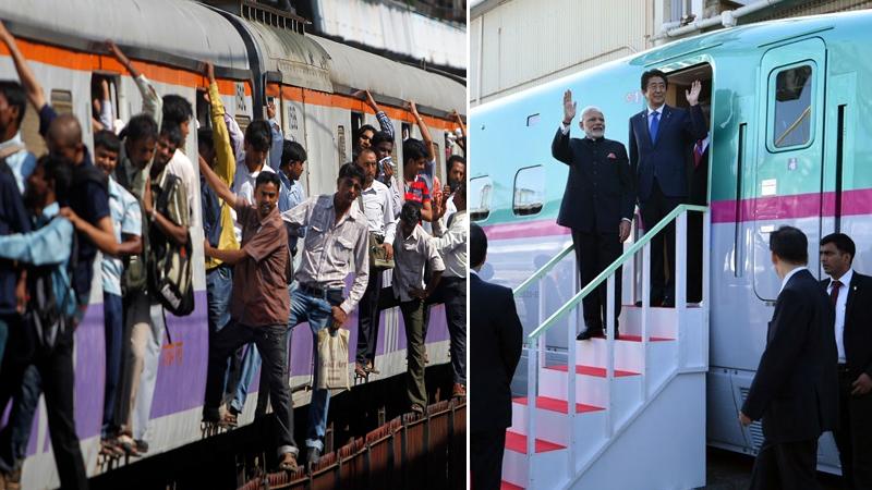 'बुलेट ट्रेन नकोय,आधी लोकलसाठी सुविधा द्या', मुंबईकरांचा उद्रेक