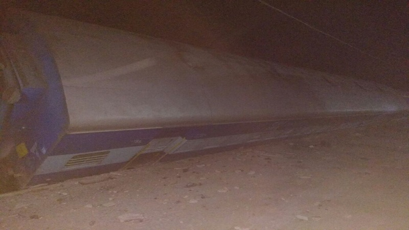वास्को द गामा पाटणा एक्स्प्रेस रुळावरून घसरली, 3 जणांचा मृत्यू
