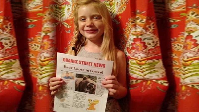 'मूर्ती लहान पण..,' 'ही' आहे अवघ्या 11 वर्षांची वृत्तपत्र संपादक !