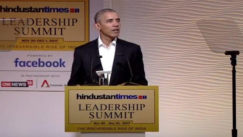 मोदींचा विविधतेतल्या एकतेवर विश्वास-बराक ओबामा