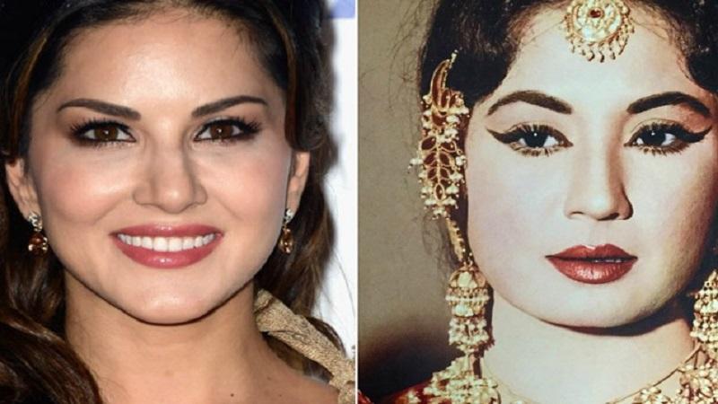 सनी लिऑनी साकारणार ज्येष्ठ अभिनेत्री मीना कुमारी यांची भूमिका ?