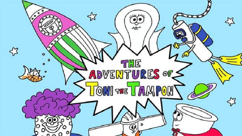 'द अॅडव्हेनचर्स ऑफ टोनी द टॅम्पॉन' हे पुस्तक