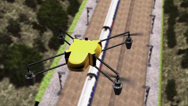 रेल्वे मंत्रालयाची हायटेक भरारी, रेल्वेवर असणार 'ड्रोन'ची नजर