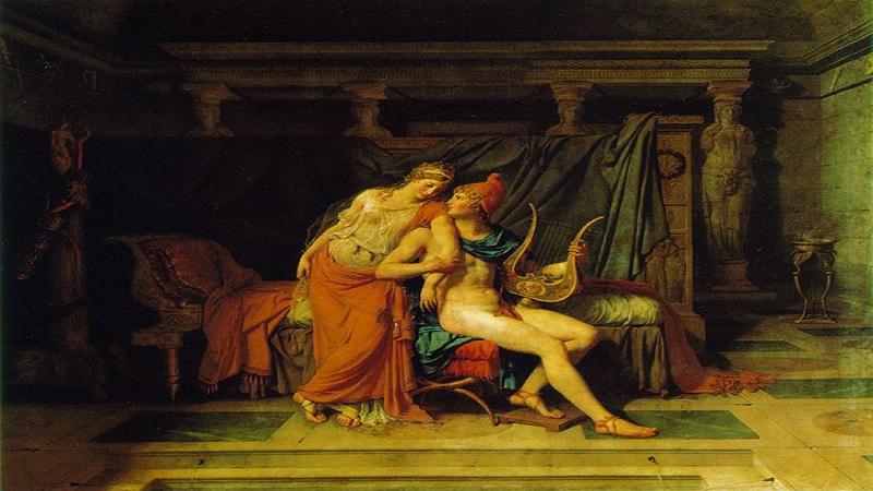 पेरिस आणि हेलेनाची कथा ग्रीकमधील आहे. ग्रीक साहित्यात हेलेना सर्वात सुंदर स्त्रियांपैकी एक समजली जाते.