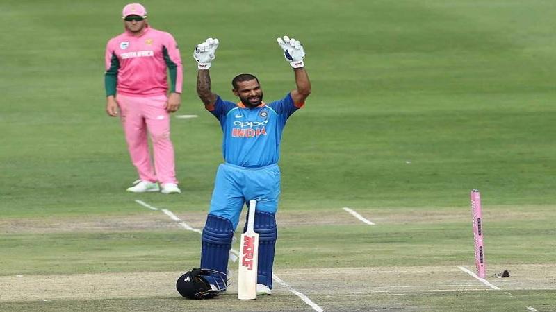 शिखर धवन ठरला 'हा' विक्रम करणारा पहिला भारतीय खेळाडू!