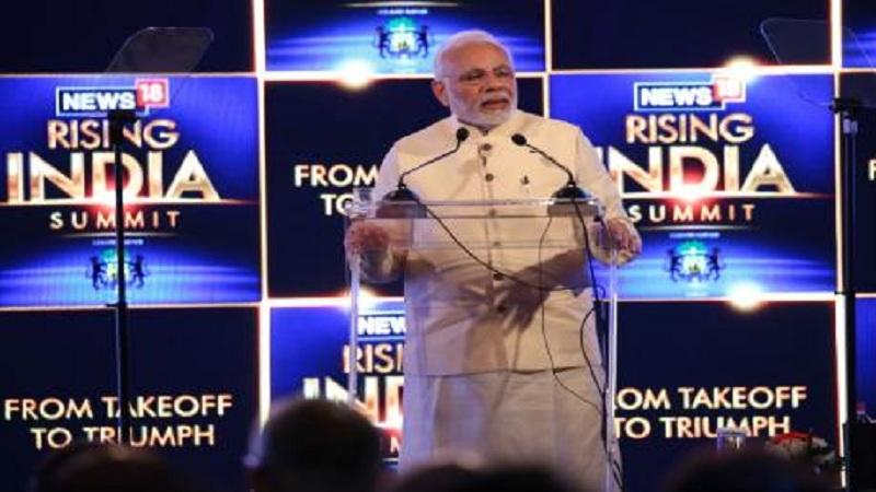 #News18RisingIndia -पूर्व भारताच्या विकासावर लक्ष केंद्रीत करणार-पंतप्रधान मोदी