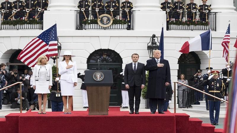 फ्रान्सच्या अध्यक्षांनी 'राष्ट्रवादा'वर टोचले अमेरिकेचे कान