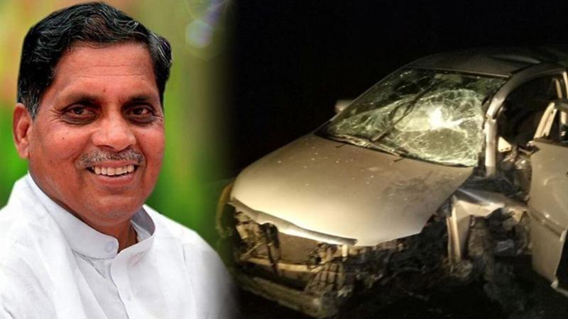 कर्नाटकातील काँग्रेसचे नवनिर्वाचित आमदार सिद्दू न्यामगौडा यांचं अपघाती निधन