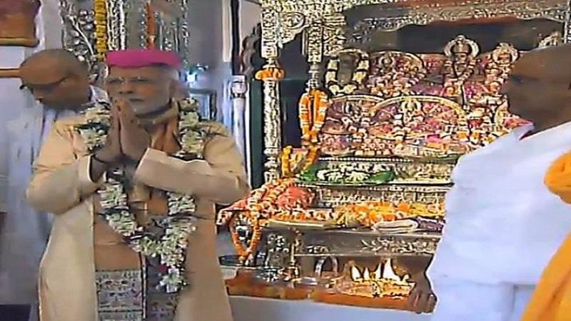 नेपाळमधल्या जानकी मंदिरात पंतप्रधान मोदींनी घेतलं दर्शन