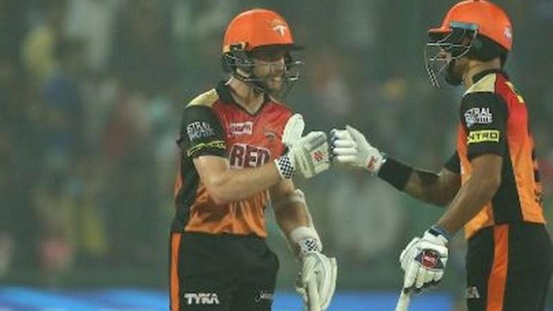 सनरायझर्स हैदराबादचा दिल्ली डेअरडेव्हिल्सवर 9 विकेट्स राखून विजय