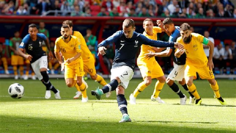 FIFA WORLD CUP 2018 : फ्रान्सची आॅस्ट्रेलियावर 2-1नं मात