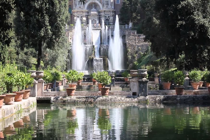 विला दी ईस्ट तिवोली, इटली