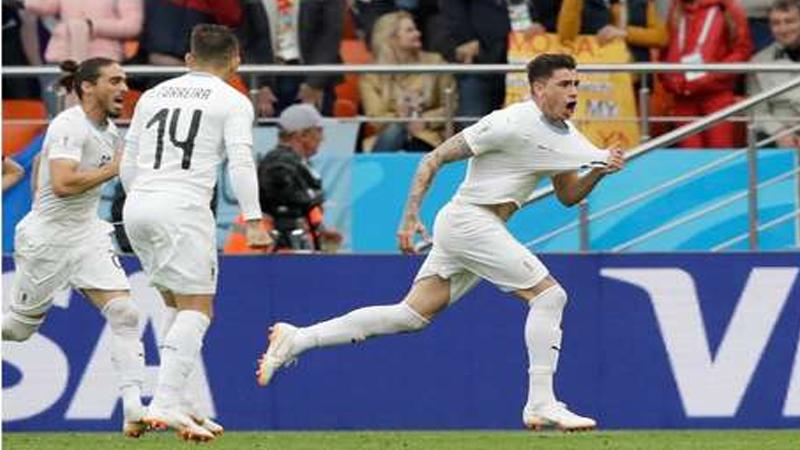 FIFA WORLD CUP 2018 : उरुग्वेचा इजिप्तवर रोमहर्षक विजय