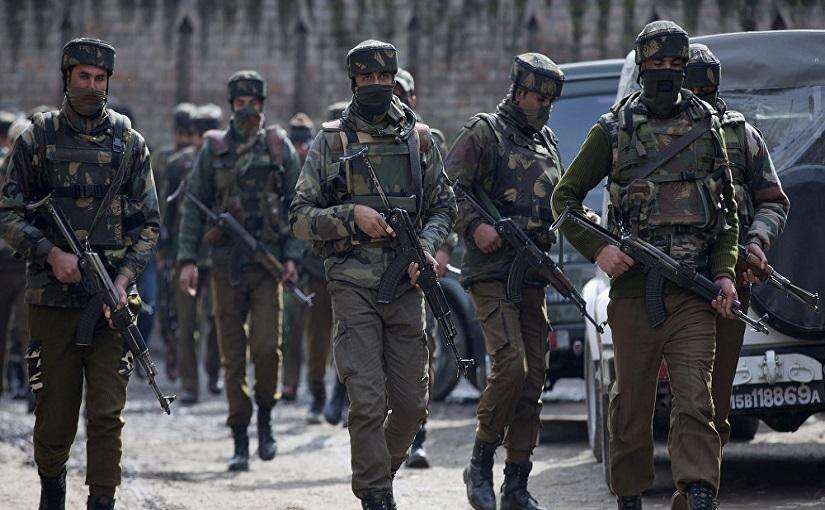 जम्मू-काश्मीरमध्ये सुरक्षा दलावर हल्ला, 10 जवान जखमी तर चार दहशतवाद्यांना कंठस्नान