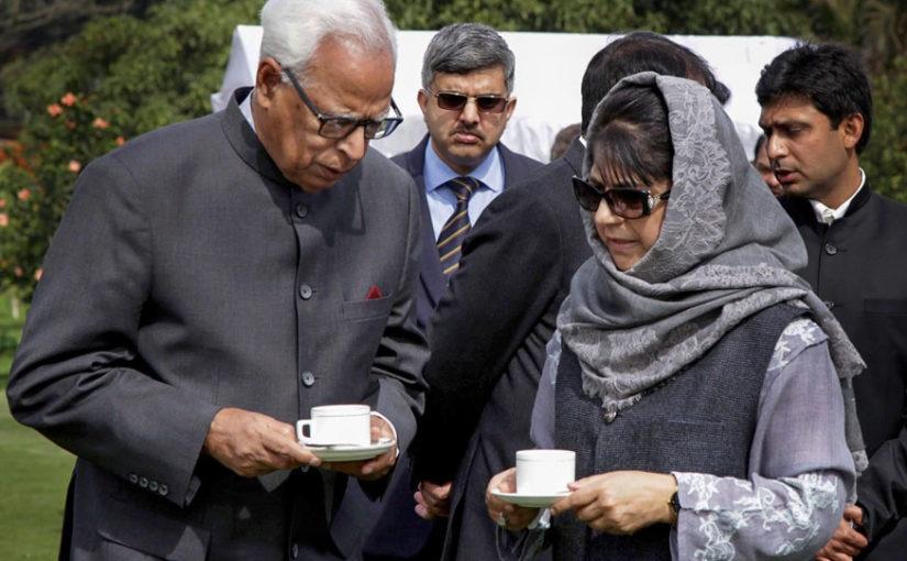 राष्ट्रपतींनी जम्मू काश्मीरमध्ये राज्यपाल राजवटीला दिली मंजुरी