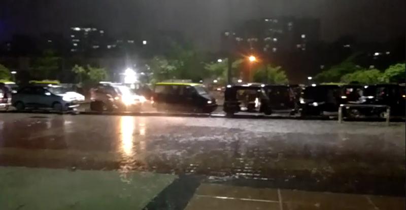 मुंबईसह राज्यभरात पाऊस आला रे !