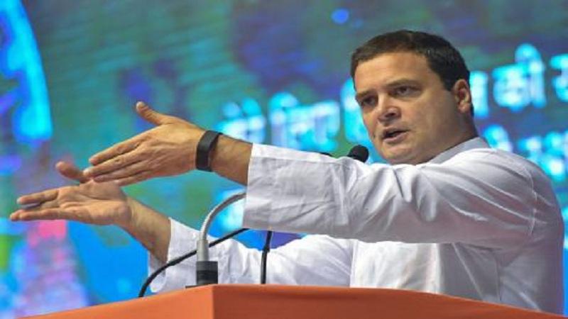 मोदींबद्दल चुकले राहुलचे शब्द, 'बाहर जाते है'ऐवजी म्हणाले 'बार जाते है'