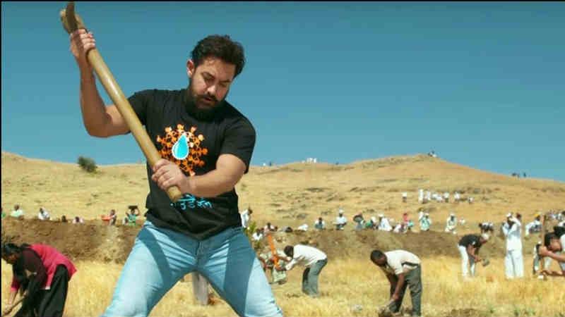 आमिर खानच्या 'पाणी फाऊंडेशन'च्या कामातून घडला चमत्कार