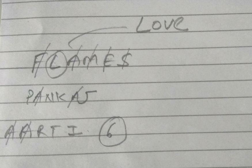फ्लेम्स - हा गेम तर सगळ्या मुलांनी ९वी , १०वीत असताना नक्कीच खेळाला असणार. त्यावेळी फ्लेम्स हा लव्ह कॅल्क्युलेटर म्हणून ओळखला जात होता. या गेममुळे भरपूर मुलांचा हृदयाचा ठोका चुकला तर काहींसाठी हा गेम लव्हलाईफ ठरला. याचा फुलफॉर्म असा की, F - Friendship, L - Love, A - Affection, M - Marriage, E - Enemy, S - Sister (Sibling).