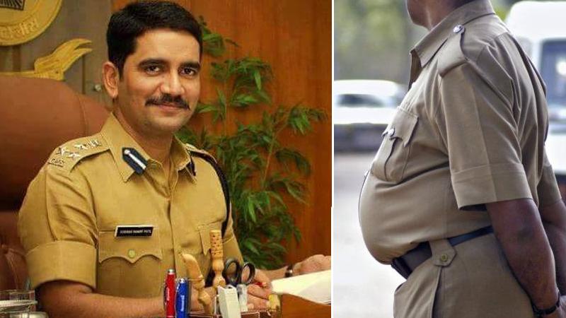 'ढेरपोट्या' पोलिसांना विश्वास नांगरे पाटलांची खास आॅफर !